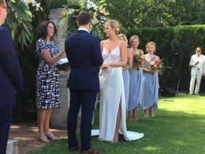 terrara house wedding ceremony