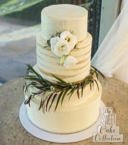 Luscious wedding cake